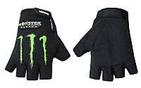 Вело-мото перчатки MONSTER