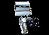 DRUM TECH - Насос з лічильником, для заправки дизельного палива, 220В, 60 л / хв