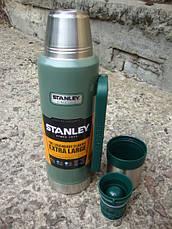 Термос STANLEY Classic Hertiage 1.3L - Зеленый (10-01032-037/79-1003-7), фото 2