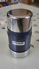 Термос для обедов синий 0,5L Classic FOOD JAR  Stanley (Стенли) 10-00811-013, фото 3