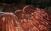 Труба медная (твердая) ф 12х1 мм в отрезках 5м Германия
