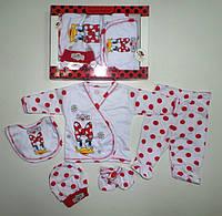 """Подарочный набор"""" Понка """" для новорожденных 5 предметов. Размер 0-3 мес."""