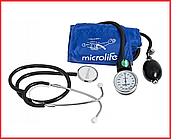 Измеритель (тонометр) артериального давления Microlife (Микролайф) ВР AG 1-20 механический со стетоскопом