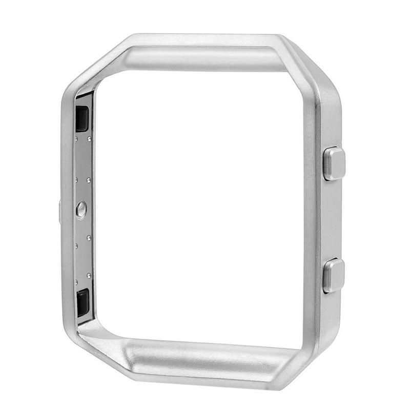 Металлический корпус рамка для Fitbit Blaze - Silver