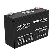 Аккумулятор кислотный LPM 6-12 AH