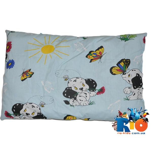 Детская подушка (хлопок) 40х60 см (мин зказ 1 ед)