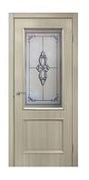 Двери межкомнатные Версаль Омис ПВХ Беленый дуб, СС+ФП