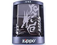 Зажигалка бензиновая Zippo №4241 (Дракон)