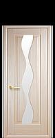 "Межкомнатные двери ""Волна"" со стеклом сатин, фото 1"