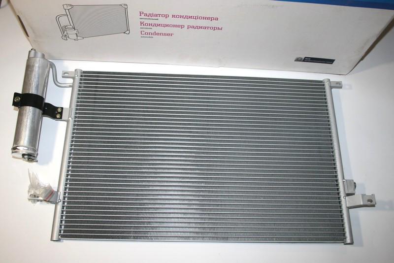 Радиатор кондиционера с ресивером Chevrolet Lacetti (ЛАЧЕТТИ) ЛУЗАР