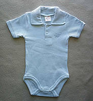 Детский Бодик-футболка на мальчика, с коротким рукавом, Турция, оптом