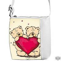 Детская сумка для девочки с принтом Teddy Me to You