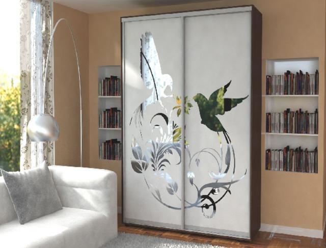Пескоструй Феникс пескоструйное изображение на две двери (фото 4)