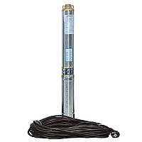 Насос центробежный скважинный 1.1кВт H 93(69)м Q 90(60)л/мин Ø80мм (кабель 40м) AQUATICA (DONGYIN) (777394)