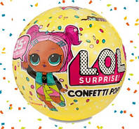 Кукла Лол сюрприз 3 сезон Оригинал LOL Surprise Confetti Pop 551515