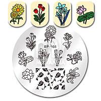 Пластина ( диск)  для стемпинга, BP-168