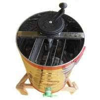 Медогонка не поворотная , нержавеющая сталь , на 2 рамки, фото 2