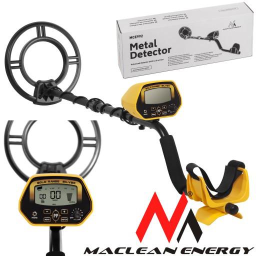 Металлоискатель Maclean Energy MCE992