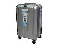 Большой антиударный чемодан из поликарбоната на 4-х колесах. Airtex 953