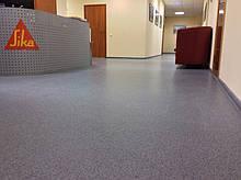 Покрытие для помещений с большой нагрузкой Sika Compact floor 2,5-3 мм