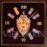 """Часы настенные с гербом """"Уголовного розыска"""""""