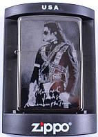 Зажигалка Zippo копия Майкл Джексон