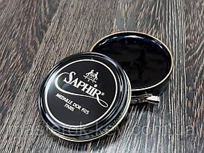 Паста для обуви Saphir Medaille D'or Pate De Luxe цвет черный (01) 50 мл