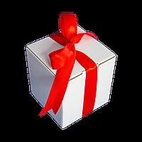 Коробка для чашки с ленточкой (красная)