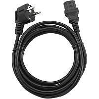 ☀Кабель питания Cablexpert PC-186-15, 4.5 метра для бытовой и компьютерной техники