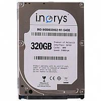 """Жесткий диск i.norys 2,5"""" 320GB 5400rpm 8MB для компьютера ноутбука универсальный"""