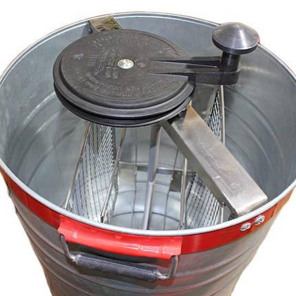 Медогонка не поворотна , оцинкована сталь , на 2 рамки, фото 2