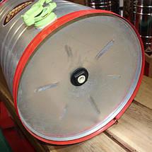 Медогонка не поворотна , оцинкована сталь , на 2 рамки, фото 3