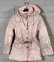 Детское пуховое пальто для девочки