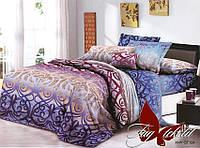 Комплект постельного белья ТМ TAG Евро, постельное белье Евро XHY124