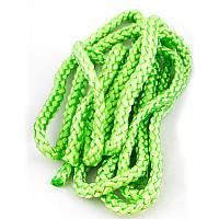 Скакалка для художественной гимнастики зеленая