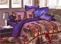 Комплект постельного белья ТМ TAG Евро, постельное белье Евро XHY1503