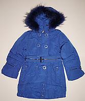 Детское пуховое пальто  для девочки, фото 1