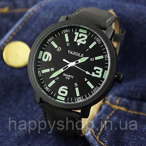 Часы мужские YAZOLE neon (Black), фото 2