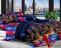 Комплект постельного белья ТМ TAG Евро, постельное белье Евро XHY1979