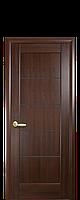 """Межкомнатные двери """"Мира"""" с черным стеклом, фото 1"""