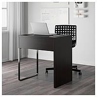 Компьютерный стол MICKE 73x50 см черно-коричневый
