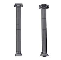 Колонна античная ∅292 мм (K6K) с римской капителью
