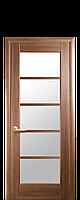 "Міжкімнатні двері ""Муза"" зі склом сатин"