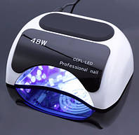 Гибридная лампа для сушки ногтей Professional Nail 48 W   t-n