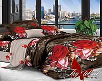 Комплект постельного белья ТМ TAG Евро, постельное белье Евро XHY1987