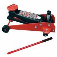 Домкрат гидравлический подкатной профессиональный GT0135 Intertool 2.25 т высота подъема 495 мм