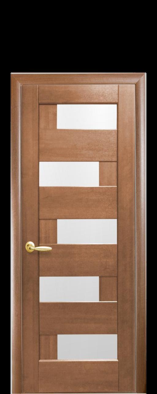 """Межкомнатные двери """"Пиана"""" со стеклом сатин"""