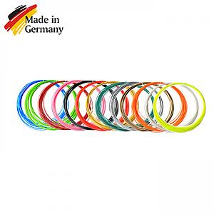 Набор пластика ABS для 3D ручек 160 метров (16 цветов по 10 м)