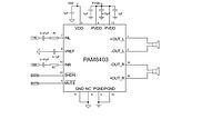 Двух канальный аудио усилитель 2*15 Вт PAM8610, фото 1