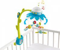 Музыкальный мобиль Цветочек голубой Cotoons Smoby 110110